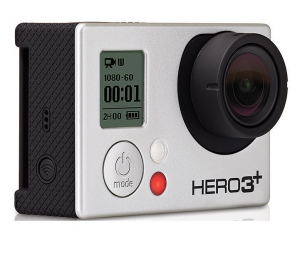 gopro hero3 black edition frontal