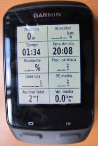 Garmin edge 510 pantallas 2